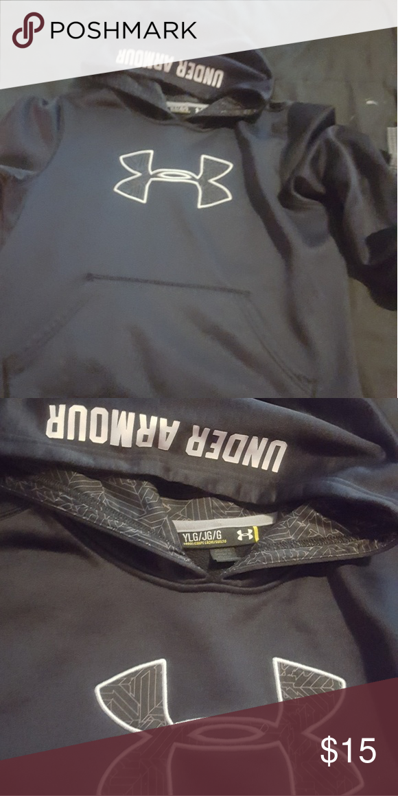 abb02b474cd6 Boys UA hoodie EUC boys yxl UA hoodie Under Armour Shirts   Tops Sweatshirts    Hoodies