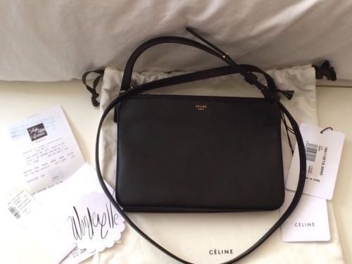 New Celine Trio Bag Small Black No Reserve 1 Day 1 Time Auction 3 Way Style Bag | eBay  MOST WANTED CELINE BAG! Celebs and bloggers fav!! AUCTION 1 day 1 time auction starting today June 2nd, 2014!!!! No reserve price, make it yours while you have a chance! SERIOUSLY, BEST OFFER IN THE MARKET! Check it out!