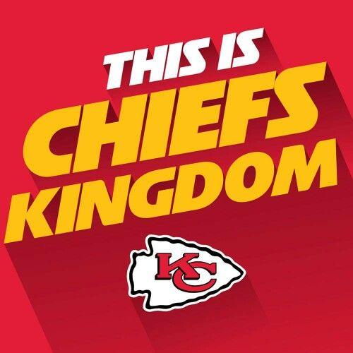 This Is Chiefs Kingdom Kansas City Chiefs Logo Kansas City Chiefs Kansas City Chiefs Football