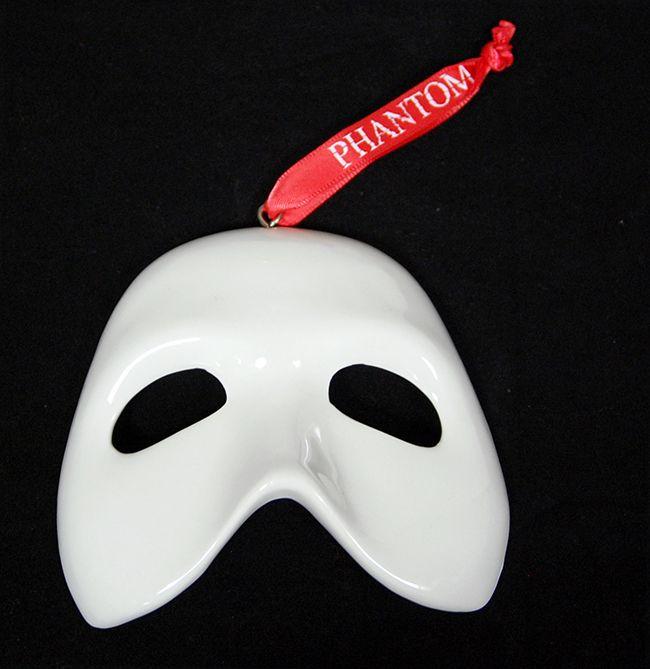Porcelain Masks Decoration Captivating Phantom Of The Opera The Broadway Musical  Collectible Ceramic Inspiration