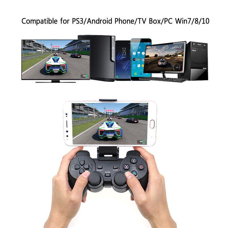 2 4g Wireless Gamepad Pc Tv Box Joystick Game Controller Remote
