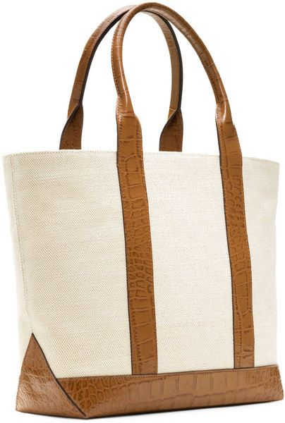 Canvas Tote - Lyst
