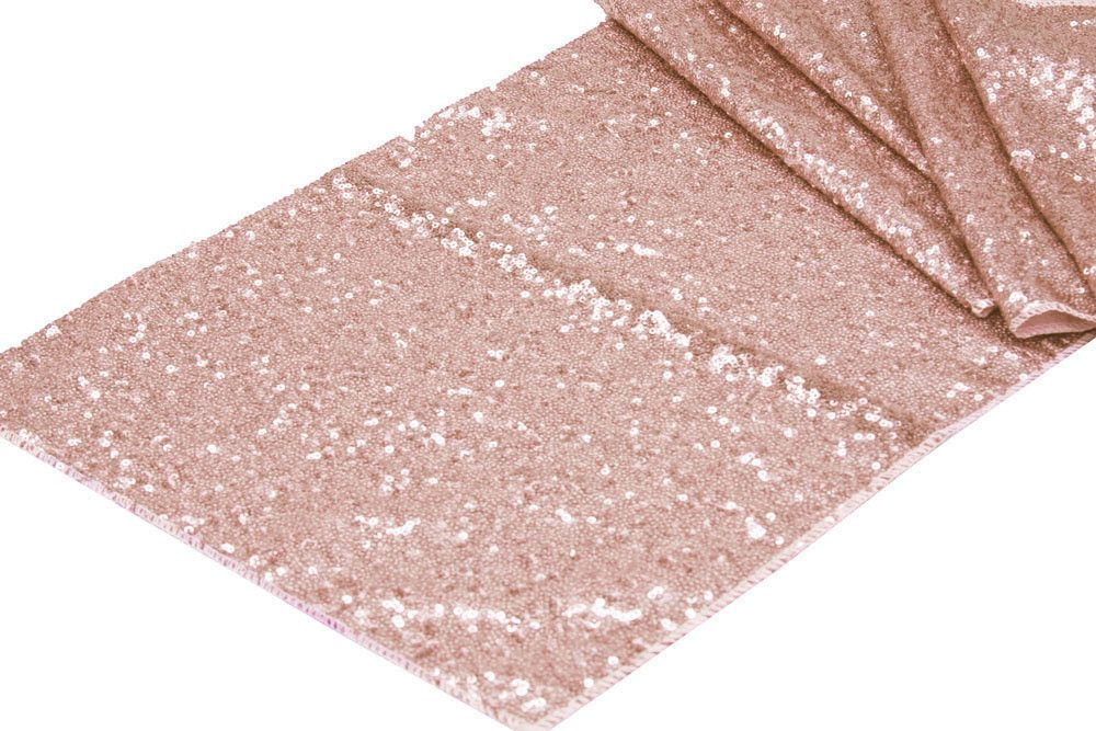 rose gold sequin table runner wedding pinterest. Black Bedroom Furniture Sets. Home Design Ideas