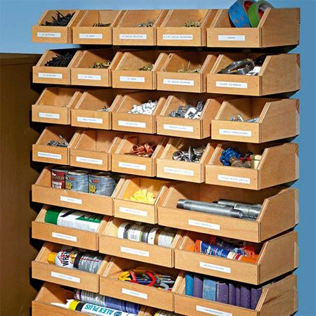 If you\'re looking for ways to organise your workshop, make storage ...