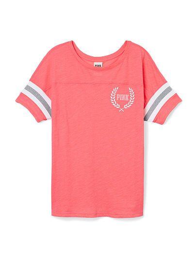 71fa14d590bca Athletic tee Victoria's secret pink | Pink~victoria secret | Pink ...