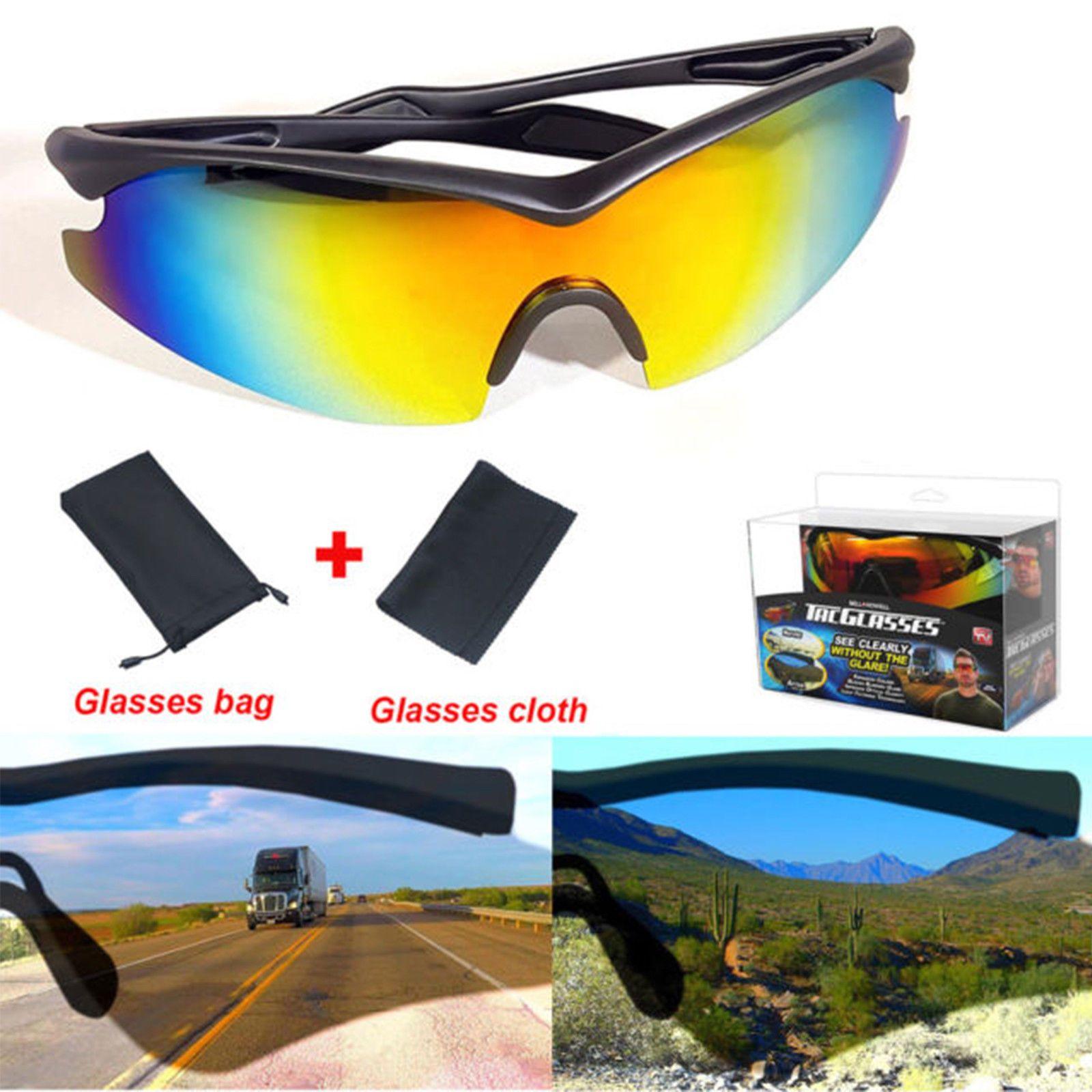 df77878d7ba  14.95 - Bell   Howell Tac Glasses Sports Polarized Military Style  Sunglasses Anti Glare  ebay  Fashion