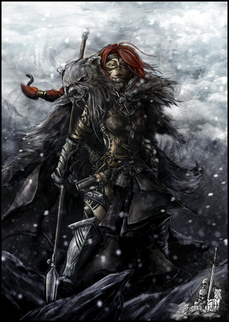 Fantasy Hunter Art Png