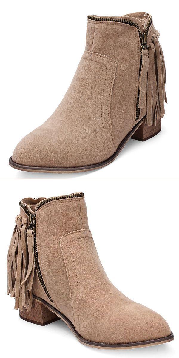 Boots 2017 Winter Women 8217 S Autumn Tel Faux Suede Ankle Flat