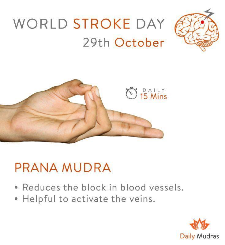 What Is Your Reason For Preventing Stroke Dailymudras Mudars Pranamudra Worldstrokeday2018 681873199817156967 In 2020 Mudras Yoga Mantras Yoga Benefits
