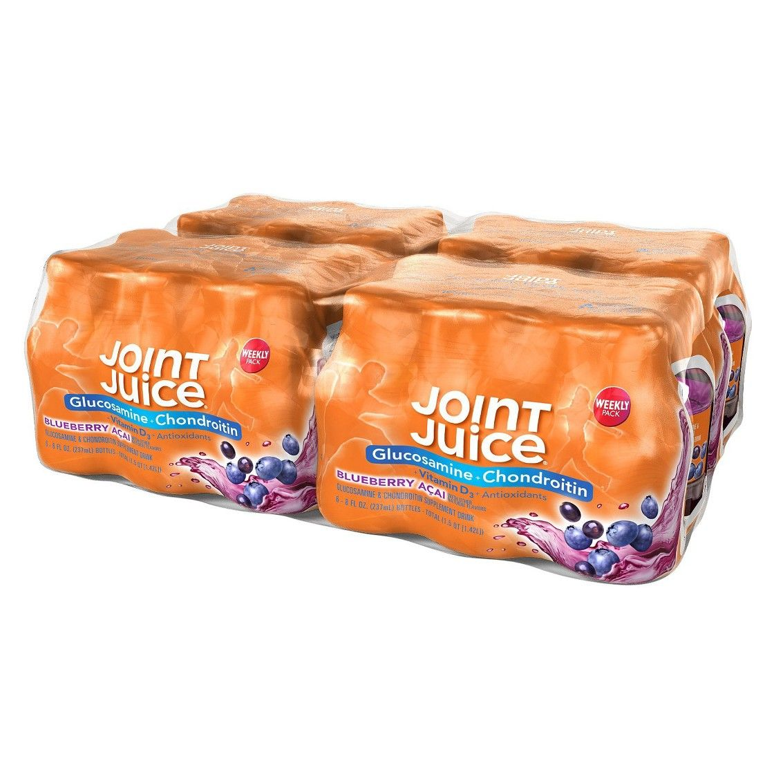 Joint Juice� Ready-to-Drink supplement - 24 pack Blueberry Acai