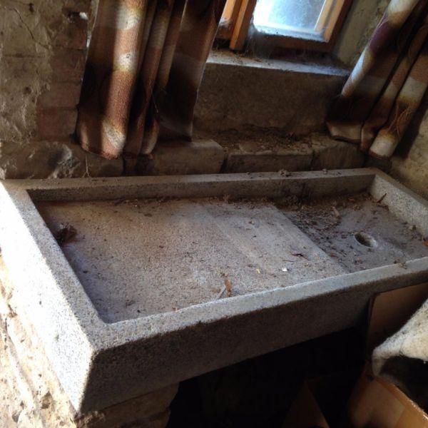 Verkaufen Einen E Steinspule Waschbecken Mit Wasserablauf