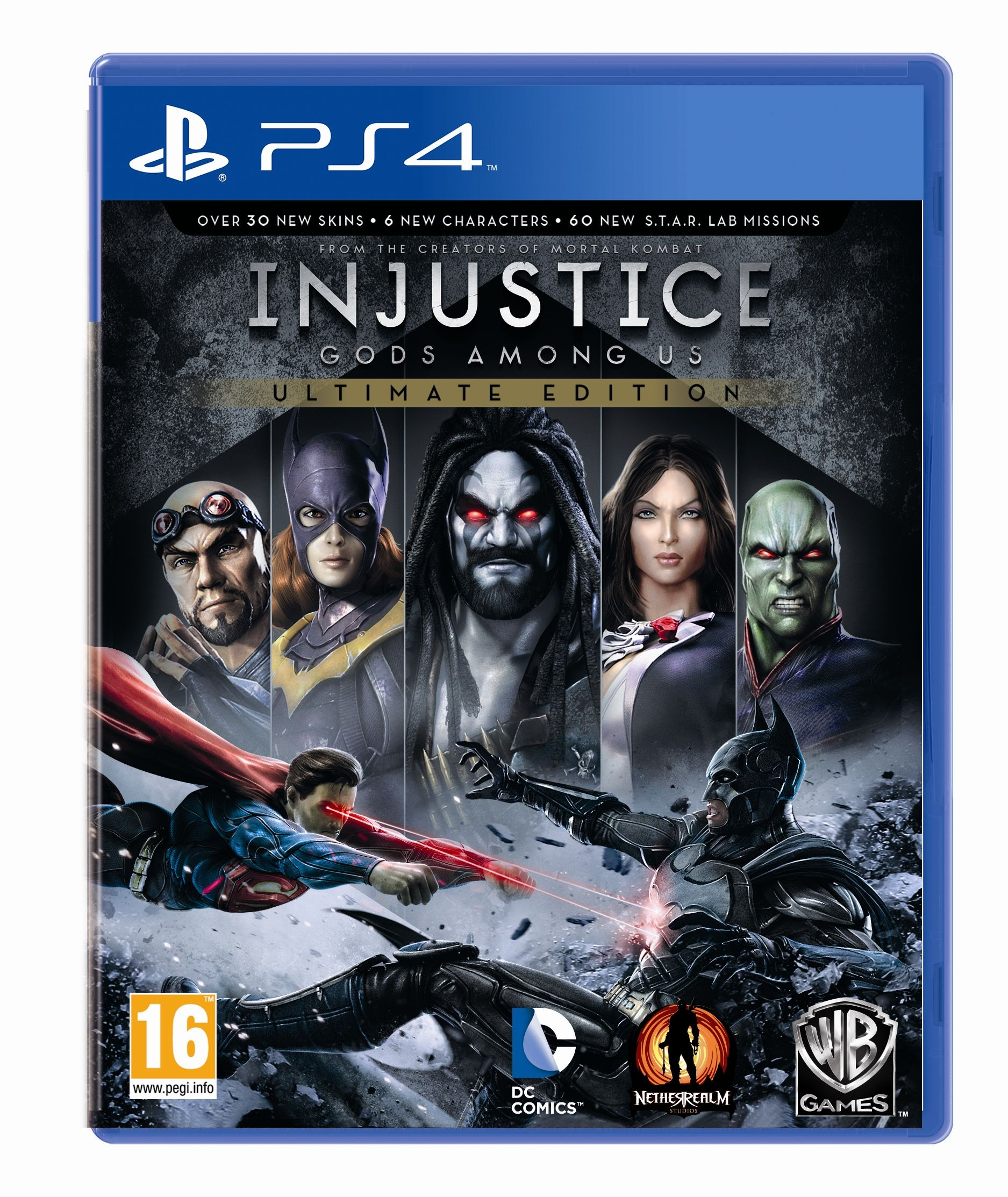 Injustice God Among Us Game Cover Ps4 Girl Pinterest 2 Reg 3 Deluxe Edition