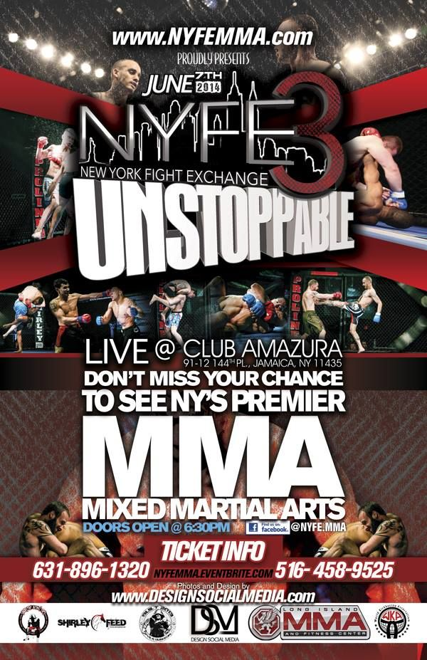 New York Fight Exchange 3: Unstoppable