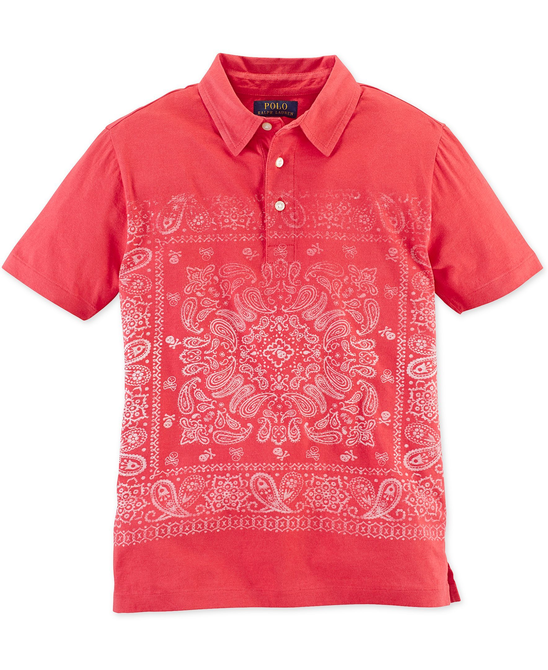 9d55d1b4 Ralph Lauren Boys' Printed Jersey-Knit Polo | Products