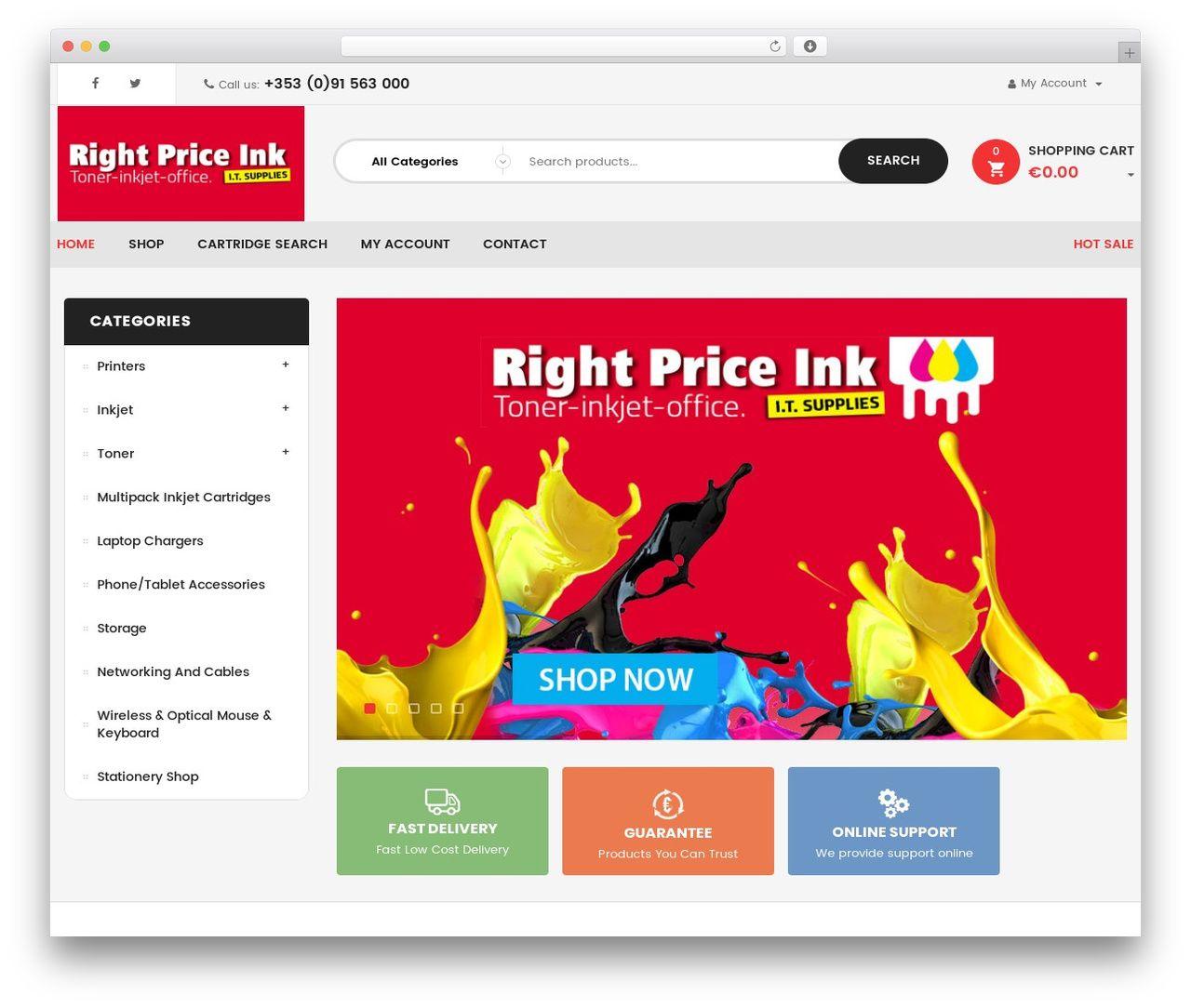 Clickboom best theme rightpriceink.ie