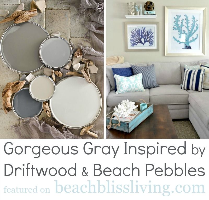Diy Headboards Paint Colors And Living Room Paint: Coastal Paint Color Schemes Inspired From The Beach