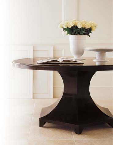 Beautiful Tables Round Table By Barbara Barry Collection