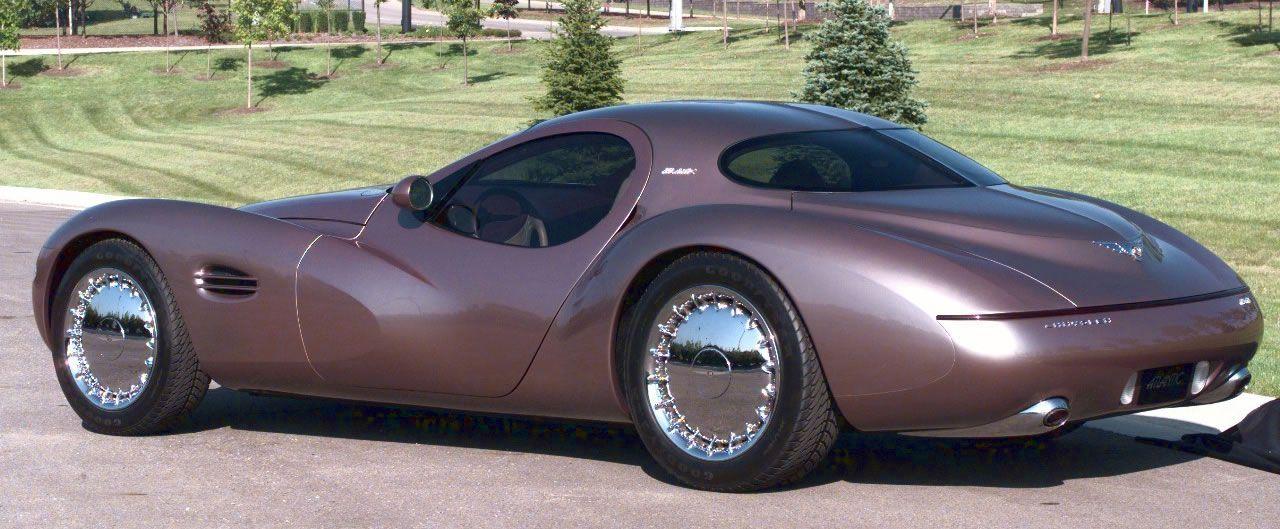 Chrysler Atlantic — The Chrysler Atlantic was a retro concept car ...