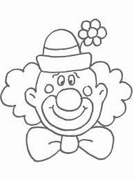 Kleurplaten Clown Peuters.Carnaval Knutselen Peuters Google Zoeken Carnaval Carnival