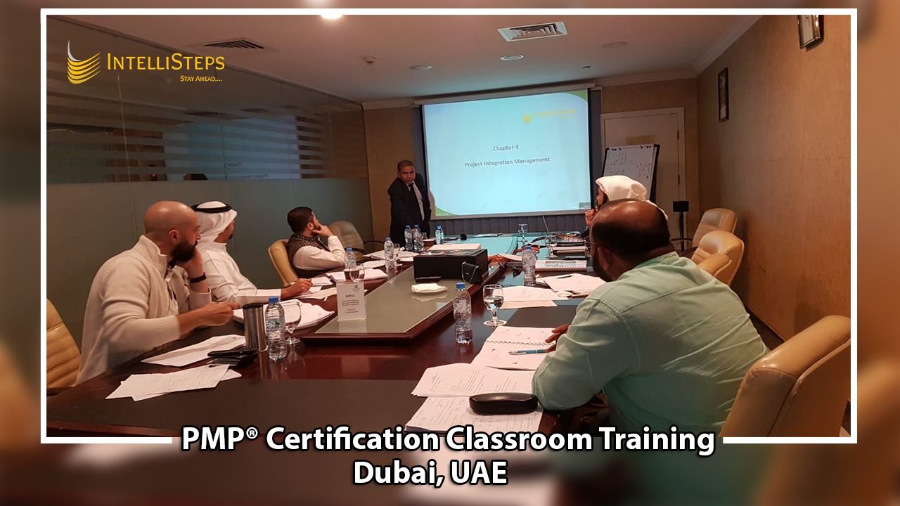 Based On Guide To Pmbok Sixth Edition Intellisteps Successfully Completed Pmp Certification Cla Classroom Training Project Management Professional Classroom