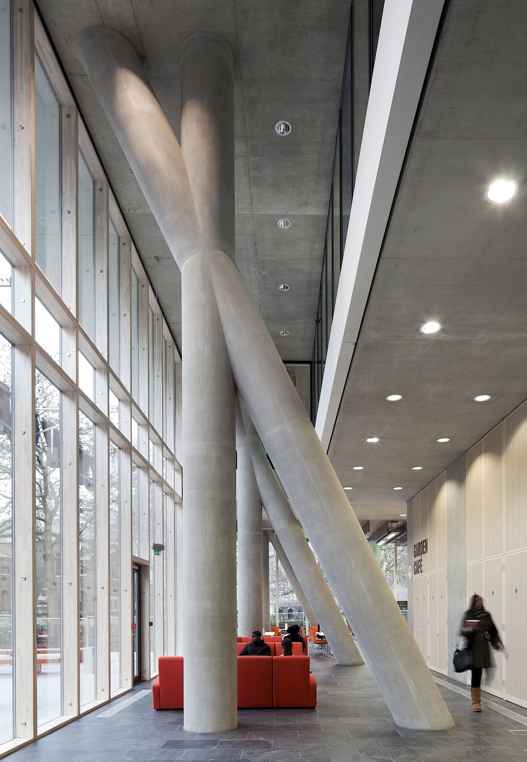 City Of Westminster College London United Kingdom Schmidt Hammer Lassen Architects Photo Adam Mork Arquitetura