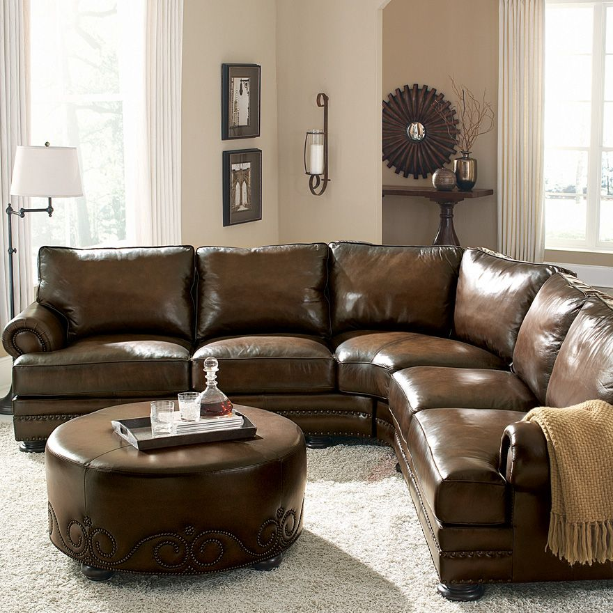 Bernhardt | Foster Sectional Sofa (5092L, 5091L) | Somewhere ...