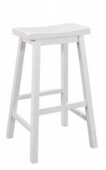 White Bar Stools Set Of Two White Bar Stools Counter Height