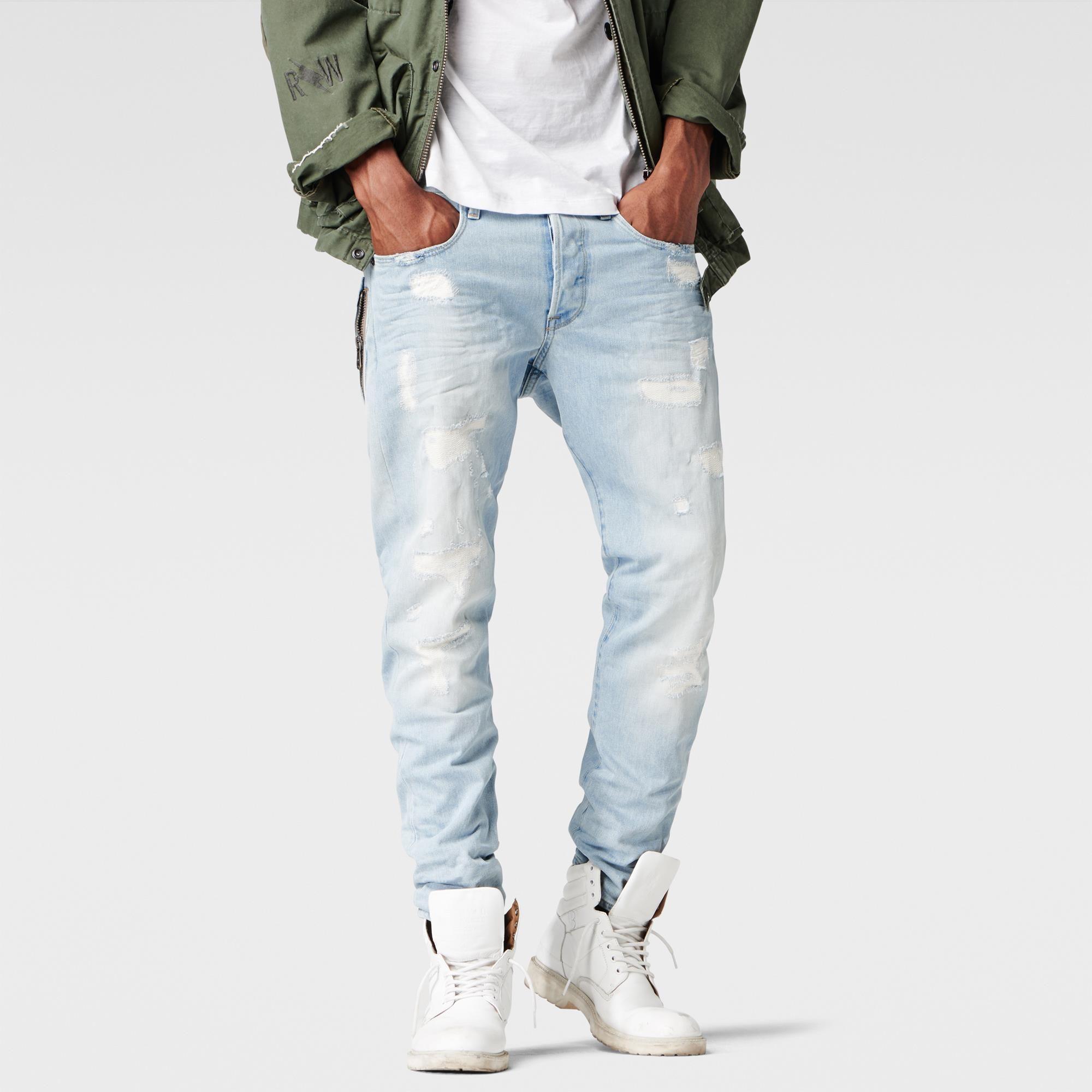 g star raw men stean stean tapered jeans light. Black Bedroom Furniture Sets. Home Design Ideas