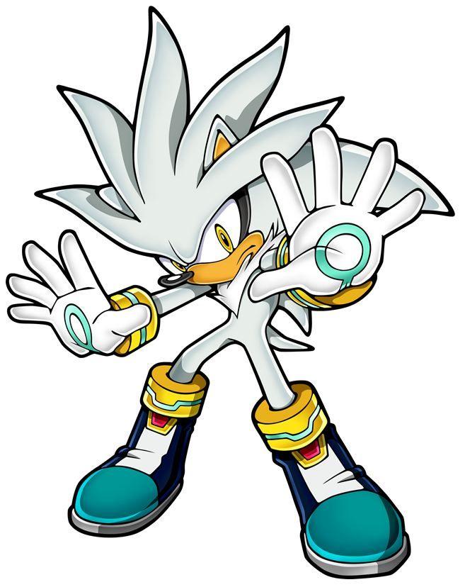 Silver Sonic Team Silver The Hedgehog Sonic Hedgehog