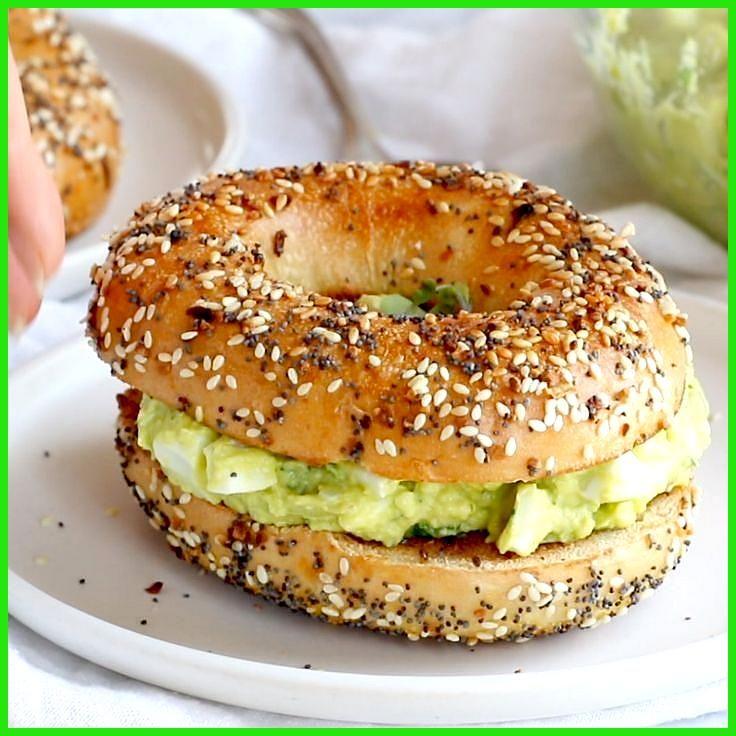 Der beste Avocado-Eiersalat #AvocadoEiersalat #Beste #Der #Fitness food logo #Fitness food pasta