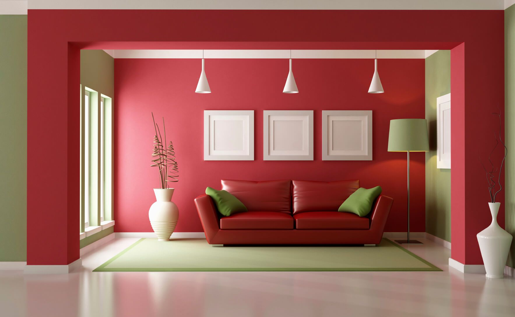Be Bold Be Cool Paint It Red Japanese Living Room Decor Japanese Living Rooms Living Room Red