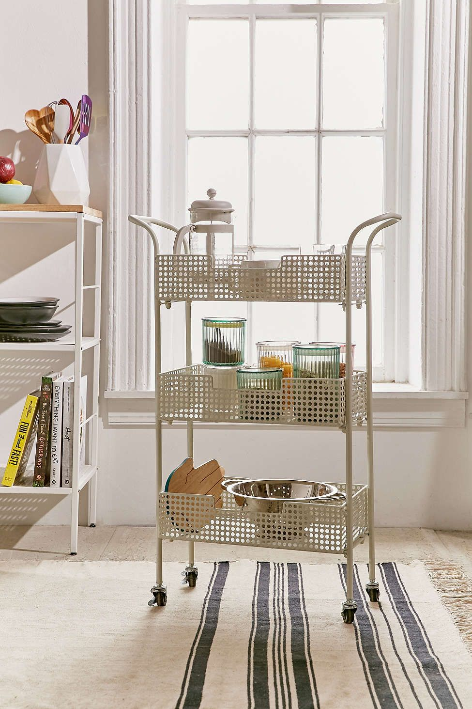 Ruby Storage Cart (With images) | Urban outfitters kitchen ...