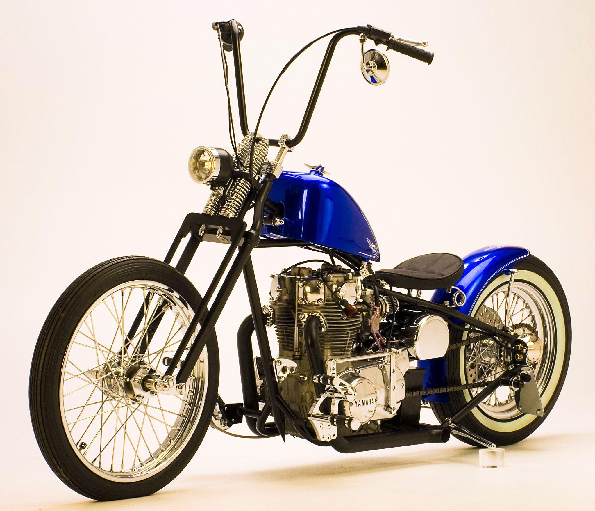 Ardcore XS650 Chopper / Bobber. Http://scottscustomcycles