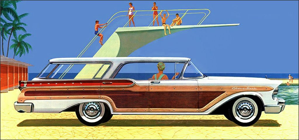 1957 Mercury Wagon