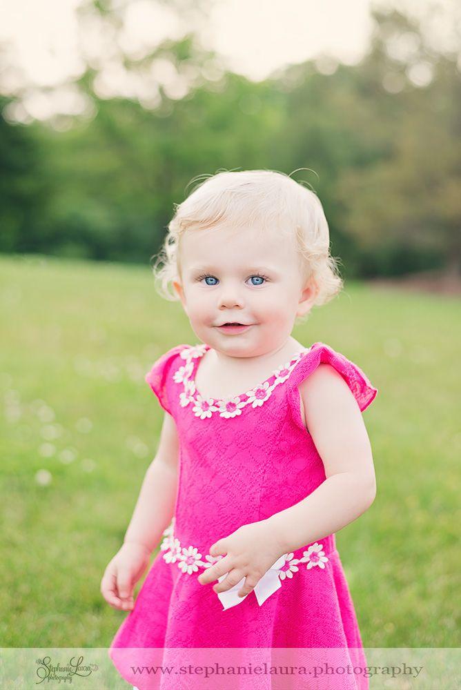 pink dress cranberry township child photography