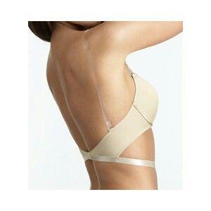 6121a0455 Convertible bra clear straps