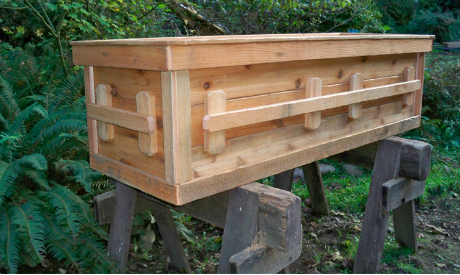 DIY Natural Wood Casket (Yes, Casket!) | My Style | Pet