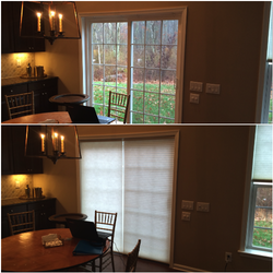 Prelude Shades Are Another Good Option For Sliding Glass Doors With Images Shades Blinds Custom Blinds Sliding Glass Door