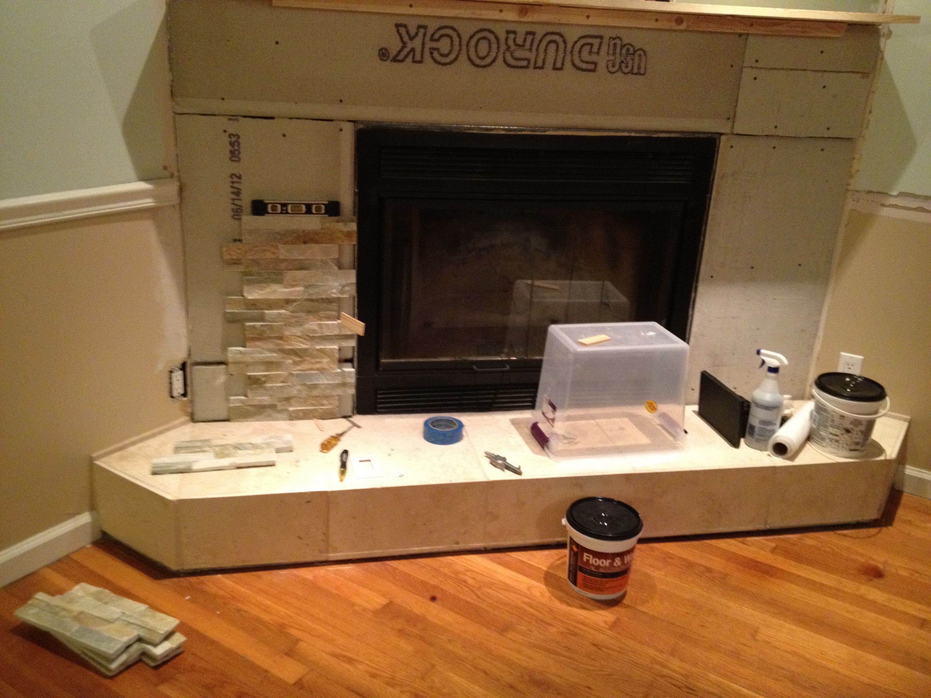 Fireplace surround with tv google search for the home
