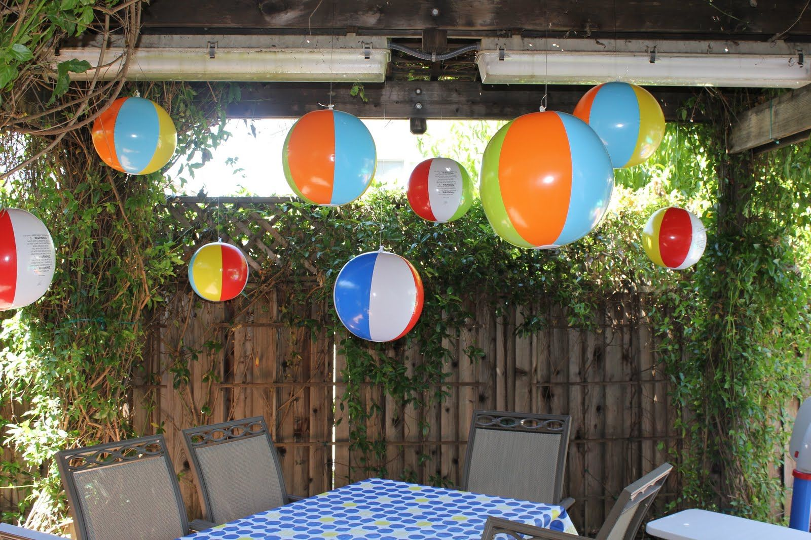 a celebrate decorate beach summer ball decor tablescape decorations