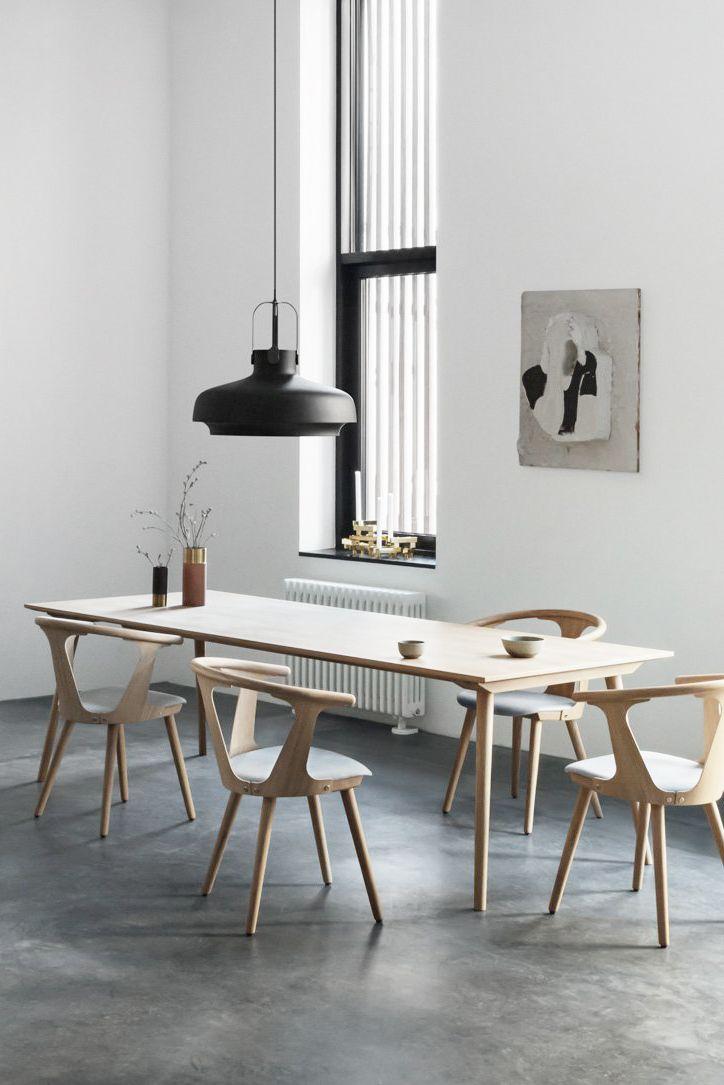 Uberlegen Aesence | Minimal Dining Room Ideas | Black Pendant Lamp By U0026tradition |  Simplicity U0026 Minimalism || This Is An Affiliate Link