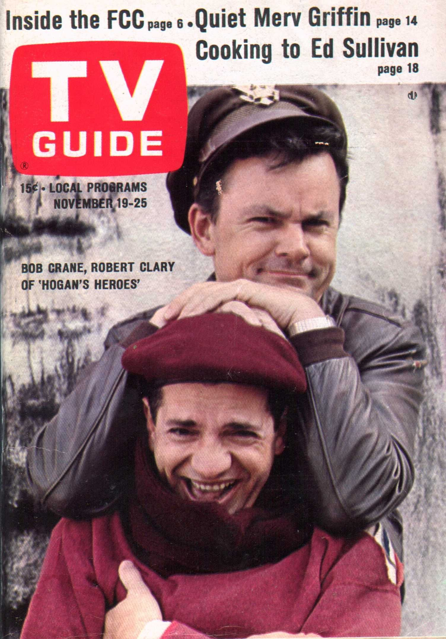Labeau from TV Show, Hogan's Heroes Tv guide, Hogans heroes