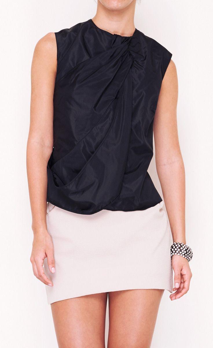 Giorgio armani black top vaunte clothing formal semiformal