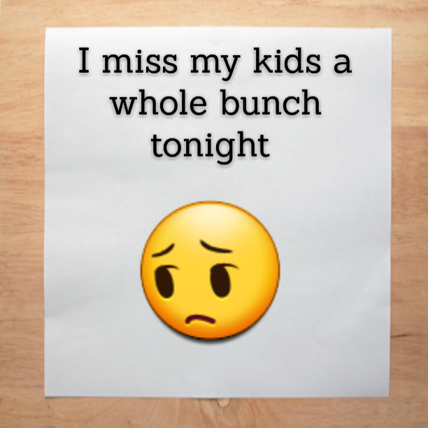 I Miss My Kids A Whole Bunch Tonight The Autism Dad My Children Quotes Quotes For Kids I Miss My Family