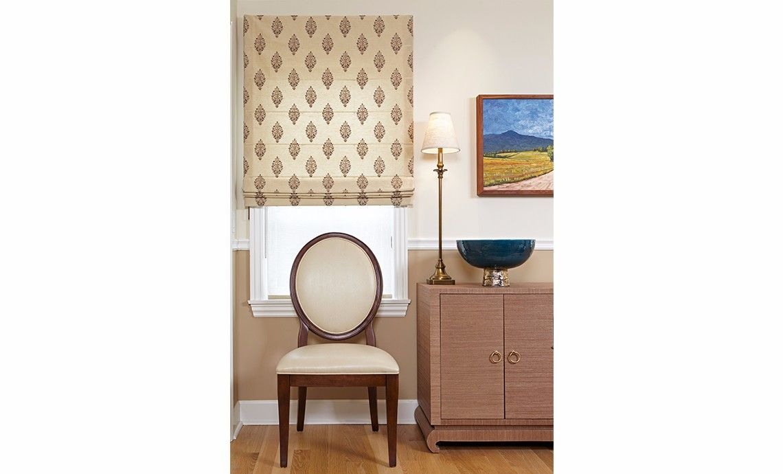 Dining Room Makeover: Grasscloth Covered Sideboard, Kid Friendly Dining  Chairs And Interesting