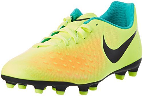 best website e6d6d 96f43 Nike Magista Ola II FG, Botas de Fútbol para Hombre, Amarillo (Volt   Black-Total  Orange-Clear Jade), 41 EU