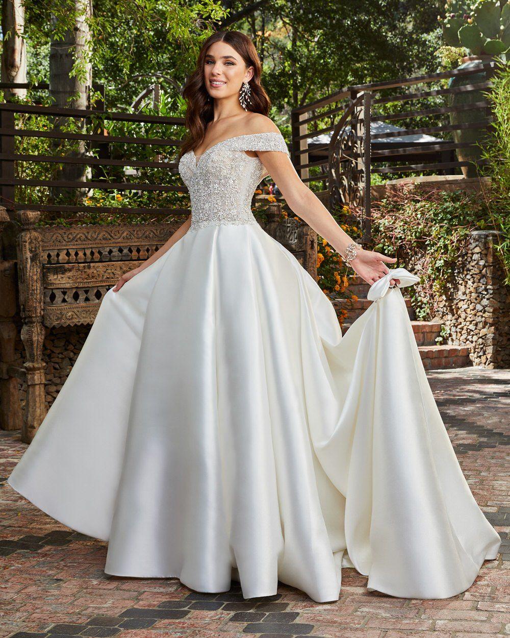 Casablanca 2020 Wedding Gowns Fresh for Spring Vestidos