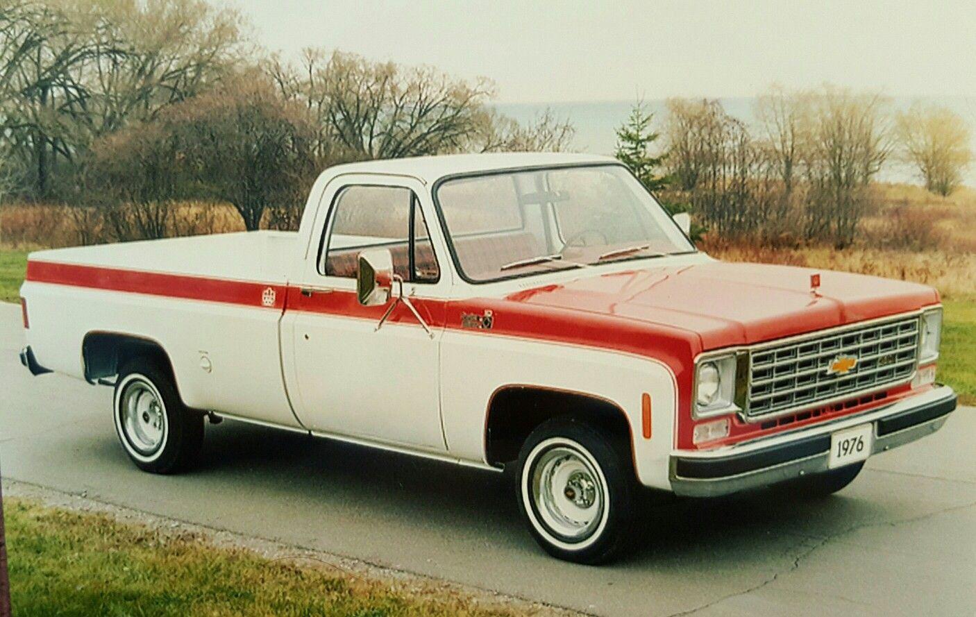1976 chevrolet c10 custom pickup