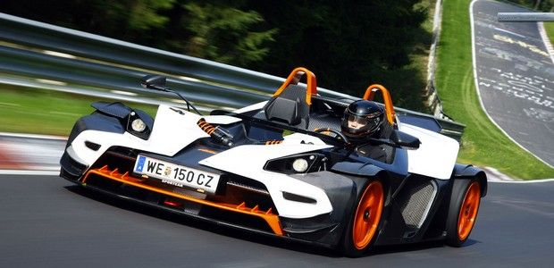 KTM X Bow Front View Wallpaper