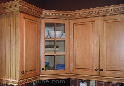 I like this moulding | Kitchen cabinets, Kitchen cabinet ...